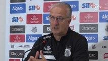 Dorival diz que não conta com saída de jogadores para a sequência do Santos no Brasileirão