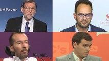 Los partidos mantienen sus posiciones ante los pactos