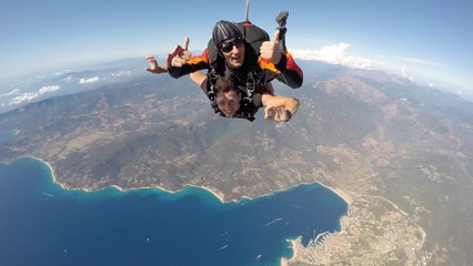 parachutisme en corse