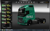 Euro Truck Simulator 2 тюнингуем,перекрашиваем грзовик VOLVO FH 2013