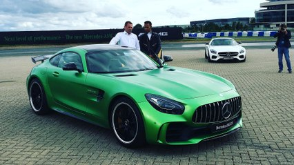 Mercedes AMG GT R World Premiere with Lewis Hamilton