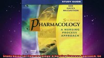 READ book  Study Guide for Pharmacology A Nursing Process Approach 5e  FREE BOOOK ONLINE