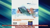 FREE PDF  Mosbys 2007 Nursing Drug Reference  CDROM PDA Software Powered by Skyscape 20e READ ONLINE