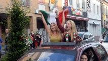 Chaud à Quaregnon pour la victoire italienne