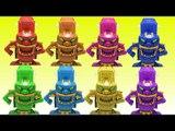 터닝메카드 장난감 무간 보라 핑크 레드 블루 초록 노랑 하늘색 주황색 색변신 메카니멀 터닝카  동영상 Turning Mecard Transformes