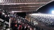 Festejos de Talleres de Córdoba en el estadio Kempes