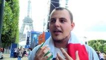 8es - Les supporters italiens exultent