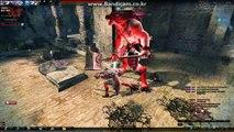 17 검시타 붉폐솔플/Vindictus level 17 Dual sword Lann - Solo play