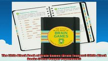 FREE PDF  The Little Black Book of Brain Games Brain Teasers Little Black Books Peter Pauper READ ONLINE