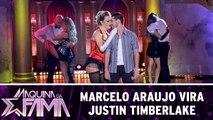 Marcelo Araujo vira Justin Timberlake