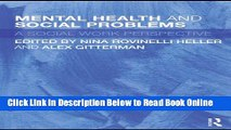 Read Mental Health and Social Problems: A Social Work Perspective  Ebook Online