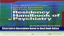 Read The Massachusetts General Hospital/McLean Hospital Residency Handbook of Psychiatry  Ebook