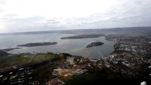 Cyclone Pam - Port Vila overflight - 19 March, 2015