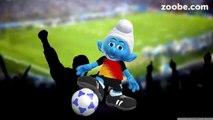 Deutschland - Polen Fußball-EM 2016♥Schlümpfe, Schlumpf, Zoobe, Smurf, Zoobe, Schlaubi