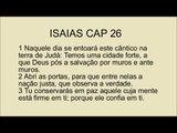 Bíblia em dvd Isaias cap 26