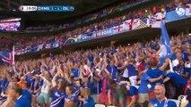 L'Islande se qualifie en quarts de finale, la réaction du commentateur islandais