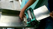 Máy cán và cắt sợi mì, máy cán và cắt sợi bánh canh, máy cắt sợi phở, LH 0937504468