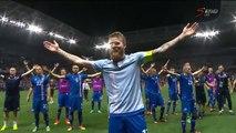 La fantastique communion islandaise après la victoire contre l'Angleterre !