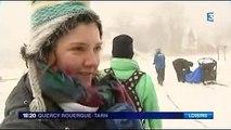 Reportage FR3 Station de ski et Mushers - 27 Décembre 2013