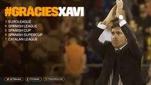 FCB Basket:  FC Barcelona & Xavi Pascual (2008-16) #GràciesXavi'
