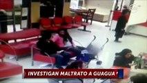 Cámara captó momento exacto en que mujer agredió a bebé - CHV Noticias