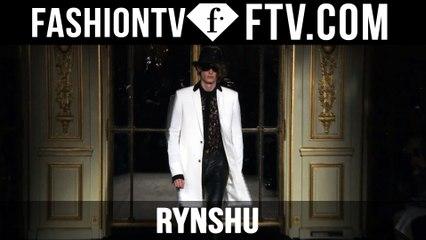 Paris Men Fashion Week Spring/Summer 2017 - Rynshu   FTV.com
