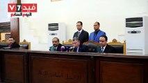 """تأجيل محاكمة """"محمد بديع"""" و738 متهما فى أحداث """"فض اعتصام رابعة"""" لـ9 أغسطس"""
