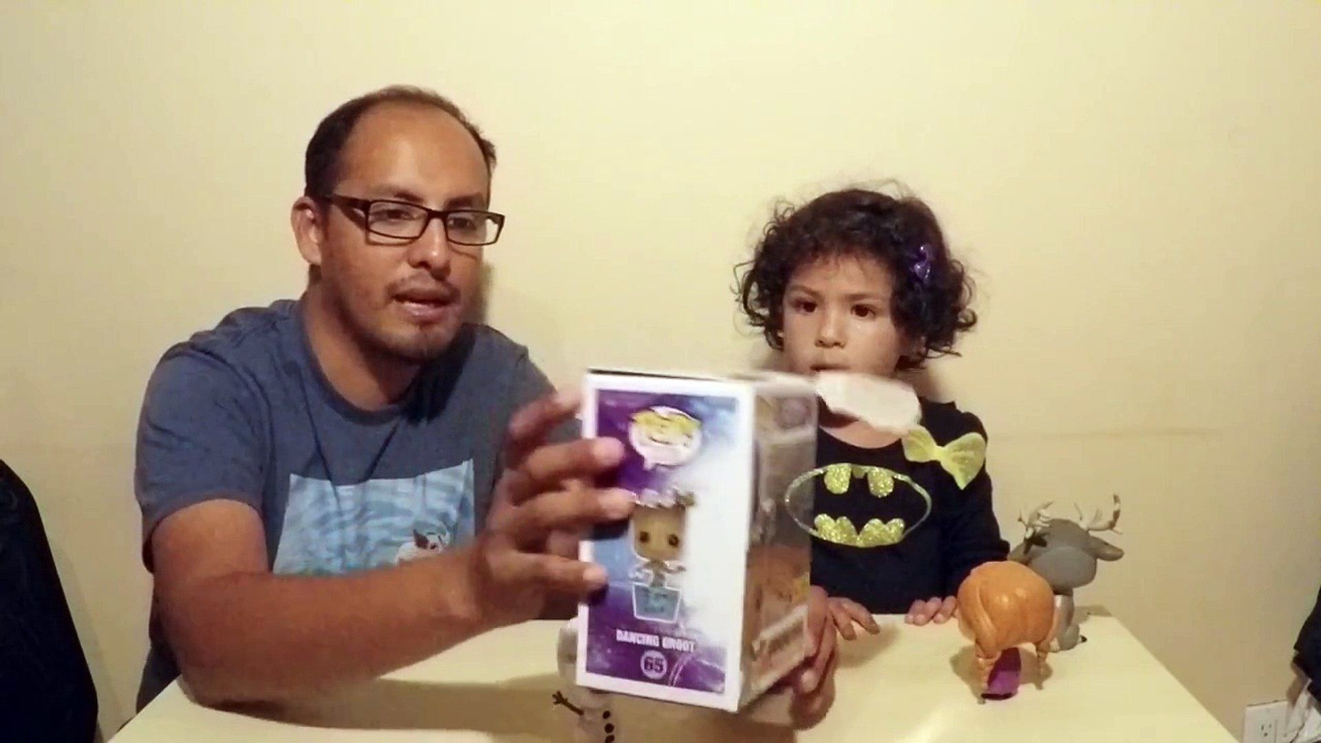 Funko POP! Marvel- Dancing Groot Hot Topic exclusive Funko Pop Unboxing