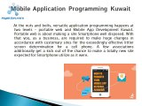 Mobile App Development Companies-Kuwait