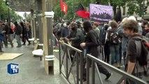Manifestation anti-loi Travail à Paris: des casseurs se sont mêlés au cortège