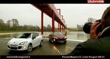 Renault Mégane CC contre Peugeot 308 CC