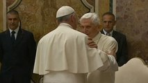 Emeritus Pope Benedict XVI celebrates 65 years as priest