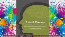 Free Full PDF Downlaod  Mind Power Thought Techniques for HighPowered Trading Full EBook