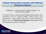 Global Tensiometer Industry 2016 Market Research Report