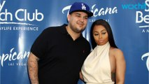 Blac Chyna and Rob Party With Kardashians at Khloe's Bday Bash