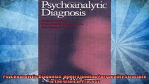 FREE PDF  Psychoanalytic Diagnosis Understanding Personality Structure in the Clinical Process  BOOK ONLINE