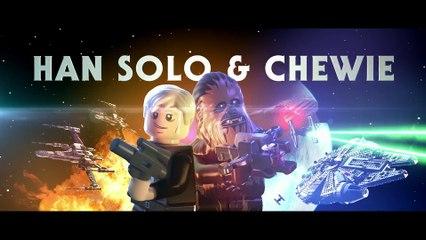 LEGO Star Wars - Han Solo et Chewbacca de LEGO Star Wars : Le Réveil de la Force