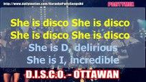 D.I.S.C.O. - OTTAWAN KARAOKE PARTY WITH LRYCS