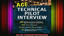READ book  Ace the Technical Pilot Interview Full EBook