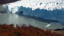 Glacier Perito Moreno à el Calafate Argentine