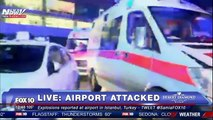 BREAKING NEWS- Two Explosions at Ataturk Airport in Istanbul, Turkey - VIDEO FROM SCENE
