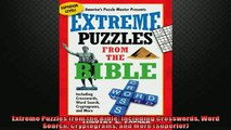 EBOOK ONLINE  Extreme Puzzles from the Bible Including Crosswords Word Search Cryptograms and More  FREE BOOOK ONLINE