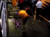 Lakers entering the tunnel after beating the Thunder 2/10/09