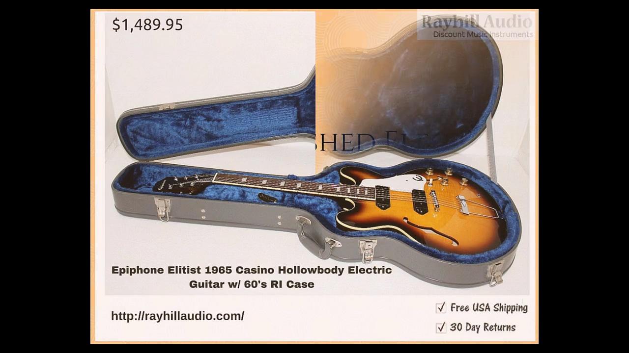 Refurbished Electric Guitars Online