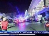 TERORISTICKÝ ÚTOK NA LETISKU V TURECKU