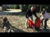 Avec France Bleu Gironde on monte la tente à l'occasion de Camping 3