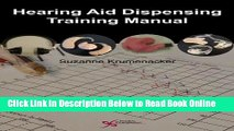 Read Hearing Aid Dispensing Training Manual  PDF Online
