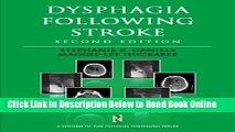 Read Dysphagia Following Stroke (Clinical Dysphagia)  Ebook Free