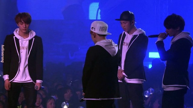 [BTS BEGINS] BORN SINGER (LIVE) & CONCERT ENDING