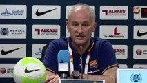 """FCB Futsal : Marc Carmona, Sergio Lozano y Paco Sedano: """"Nos ha faltado suerte"""""""